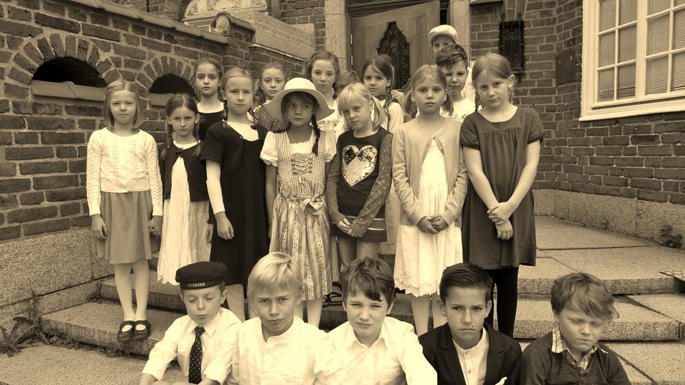 Tyska Skolan | Schule wie vor 100 Jahren