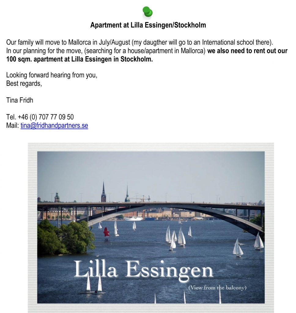 Wohnung Lilla Essingen