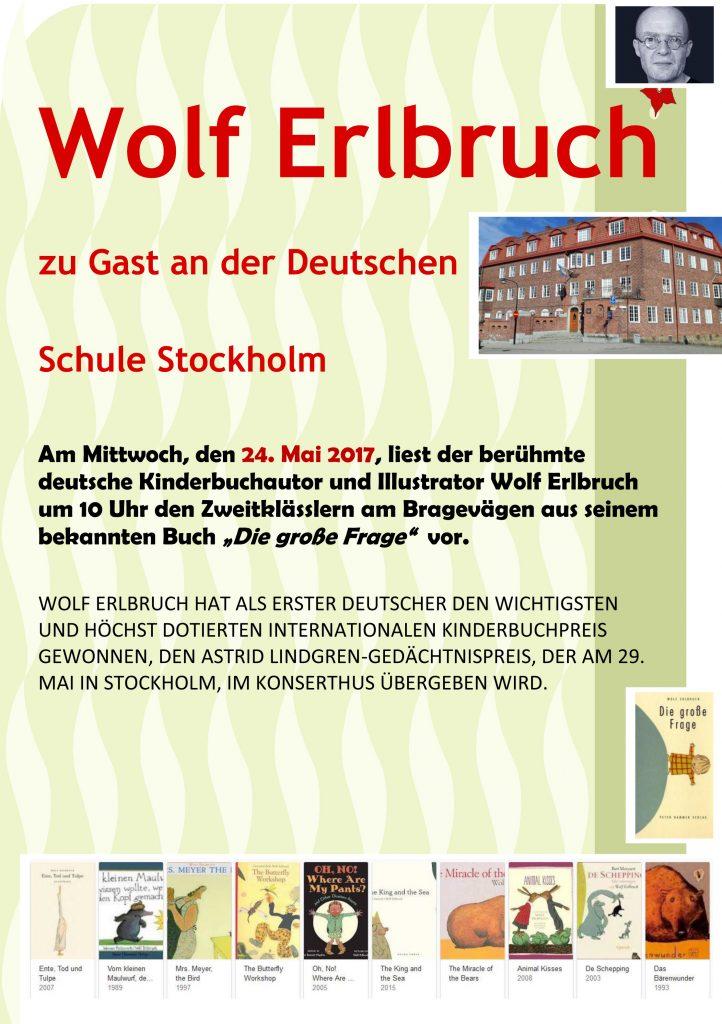 Wolf Erlbruch an der DSS D