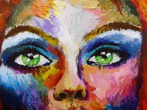 Expressionistische Porträts und Menschendarstellungen - Klasse 11